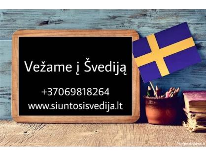 Kroviniai į Švediją  869818264