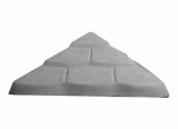 Peržiūrėti skelbimą - Tvoros kepurė Čerpė 450x450x170
