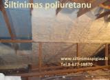 Peržiūrėti skelbimą - Šiltinimas poliuretanu, ekovata